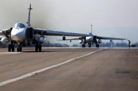 Ruská letecká základna v Sýrii