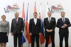 Summit V4 v Maďarsku
