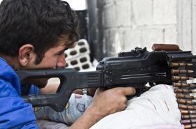 Rebelové v Sýrii
