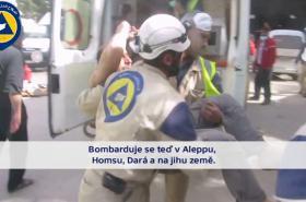 Dobrovolní záchranáři v Sýrii