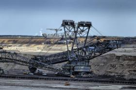 Uhelný důl firmy Vattenfall