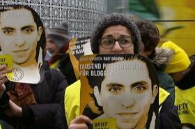 Protest za Raífa Badávího