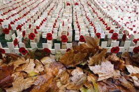 Hřbitov válečných veteránů v Lodnýně