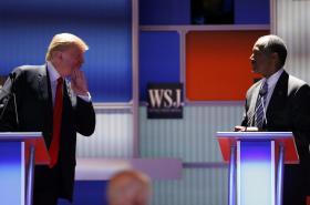 Donald Trump a Ben Carson
