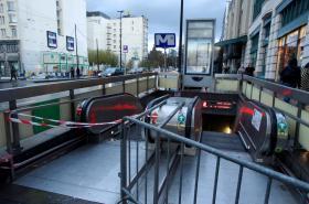 Uzavřené metro kvůli bezpečnostním opatřením v Bruselu