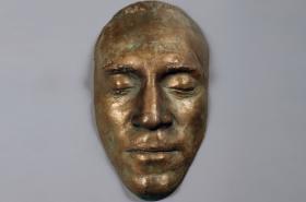 Posmrtná maska Vladimira Vysockého