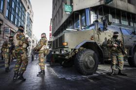 Ozbrojenci v Bruselu