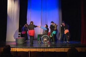 Návrat mladého prince v podání herců s Downovým syndromem