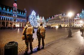 Bezpečnostní složky v Bruselu