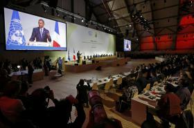 Zahájení klimatického summitu v Paříži