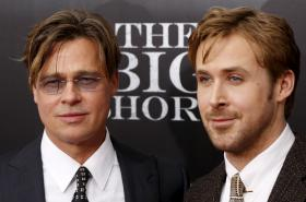Brad Pitt a Ryan Gosling