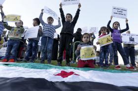 Demonstrace za konec obléhání Madáji