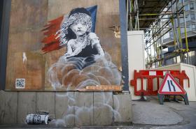 Graffiti od Banksyho