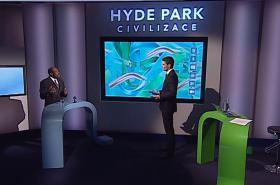 Paul Rusesabagina v pořadu ČT Hyde Park Civilizace