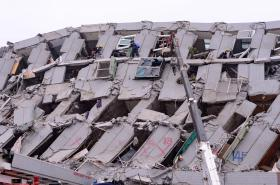 Tchaj-wan zasáhlo silné zemětřesení