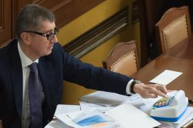 Andrej Babiš při diskuzi o EET