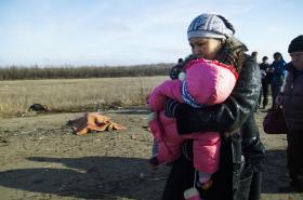 Výbuch miny u Doněcka si vyžádal tři mrtvé