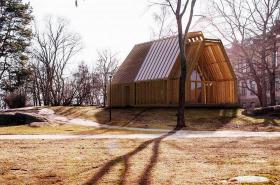 Návrh Jakuba Hoffmanna na Muzeum finské architektury