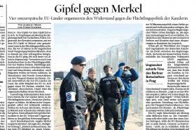 Der Tagesspiegel o summitu V4