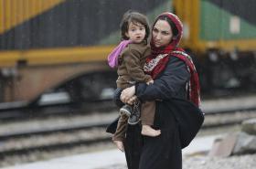 Uprchlice z Afghánistánu