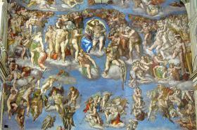 Freska Poslední soud v Sixtinské kapli