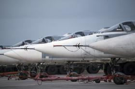 Ruské bombardéry v Sýrii