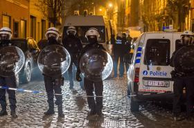 Zásah, při kterém Belgičané zadrželi Salaha Abdeslama