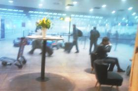 Výbuch na letišti v Bruselu