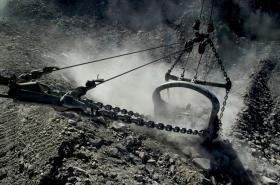 Těžba uhlí v australském Queenslandu