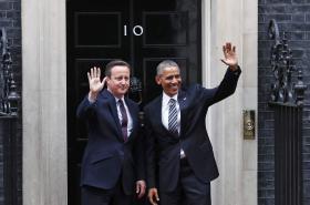 Barack Obama v Downing Street 10