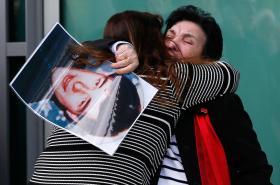 Příbuzní obětí tragédie po vynesení rozsudku