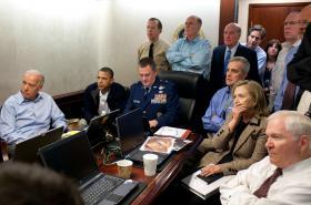 Prezident Obama sleduje z Bílého domu zásah proti bin Ládinovi
