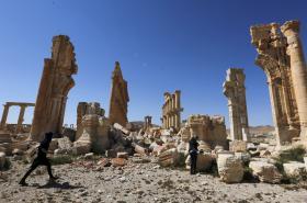 Pozůstatky Palmýry
