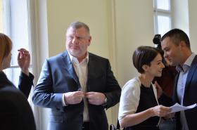 Ivo Rittig u soudu