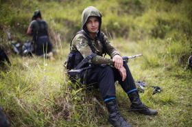 Bojovníci FARC