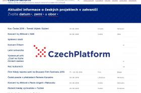 Stránky CzechPlatform