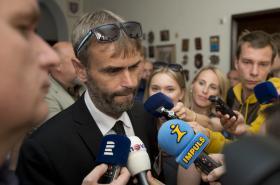 Robert Šlachta po jednání vyšetřovací komise