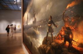 Výstava Ivana Ajvazovského