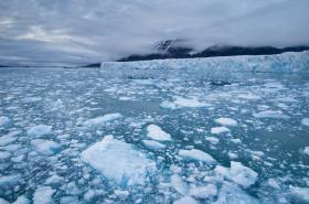 Tající ledovce u Norska