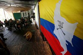 Stanoviště jednotek FARC