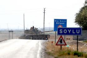 Turecká ofenziva v Sýrii