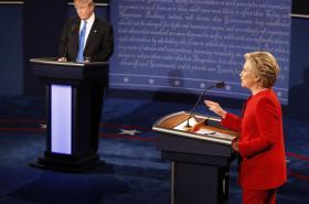 První televizní duel Trump-Clintonová