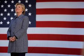 Demokratka Hillary Clintonová