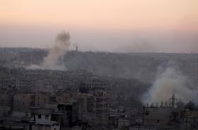 Nálety v oblasti Aleppa