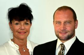 Alena Dernerová a Jiří Šlégr