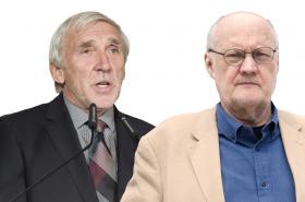 Jiří Růžička a Václav Bělohradský