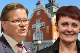 Zdeněk Škromach a Anna Hubáčková