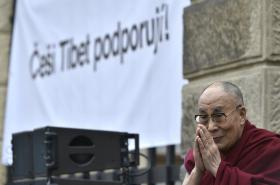 Dalajlama přijel do Prahy
