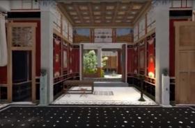 Model pompejského domu