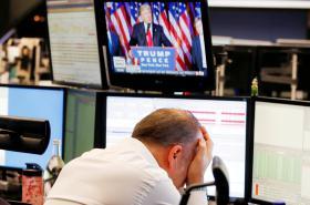 Reakce trhů na Trumpovo volební vítězství